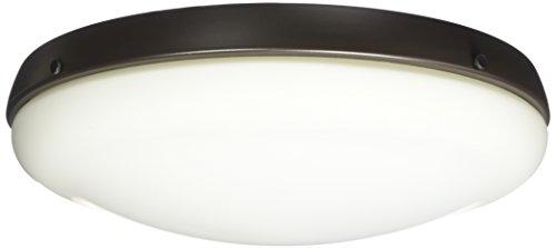 Hunter 99154 Low Profile Light Kit, Candelabra Bulbs, New Bronze (Low Profile Light Kit)