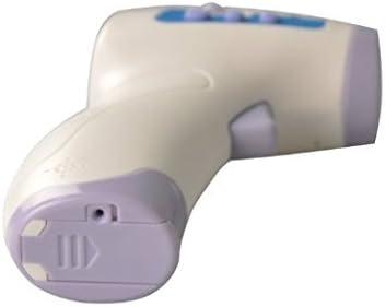 Ni/ños Thinp Term/ómetro sin Contacto Infrarrojos Digital Term/ómetro para Beb/é Alarma de Alta Temperatura Lectura Instant/ánea Pistola de Temperatura Aldultos y Objetos Medir Temperatura de Frente y Cuerpo