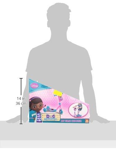 Mondo Toys Doctora Juguetes - Patinete de 3 Ruedas, mi Primer Scooter + borsello (Mondo 28120)