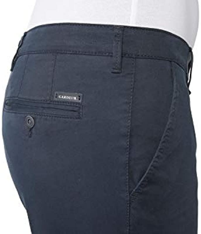 Atelier GARDEUR męskie jeansy spodnie Chino Iconic Khakis Benito 411361 068: Odzież