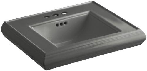 KOHLER K-2239-4-58 Memoirs Pedestal Bathroom Sink Basin with 4