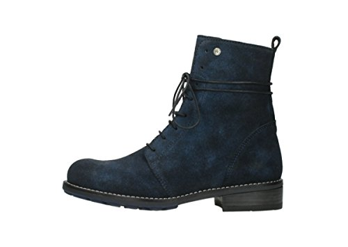 Wolky Sneaker Blue Suede donna 48800 O7q7w1rF