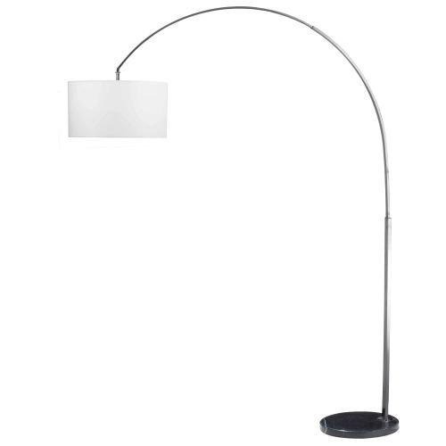 Arc Wall Lamp - Kenroy Home 32119BS Bolen Arc Lamp