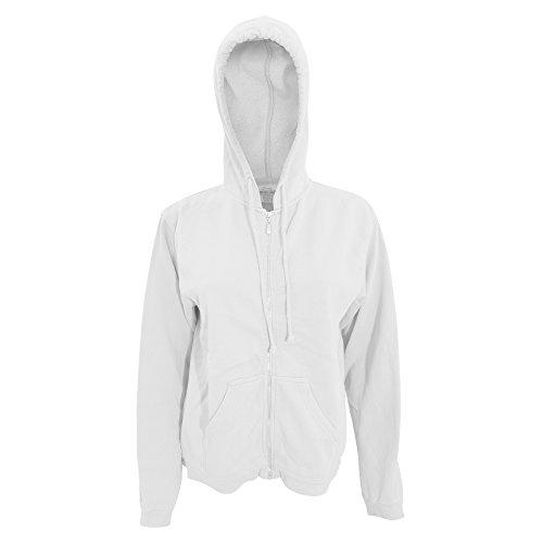 Comfort Colors Womens/Ladies Full Zip Hoodie Jacket (2XL) (Ladie Full Zip Hoody)