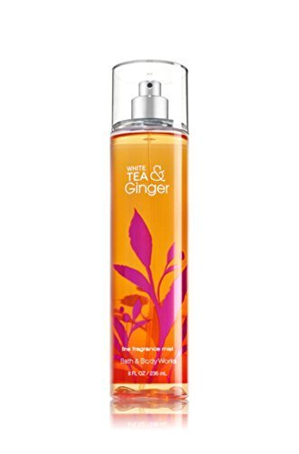 White Tea Fragrance - Bath & Body Works Fine Fragrance Mist White Tea & Ginger