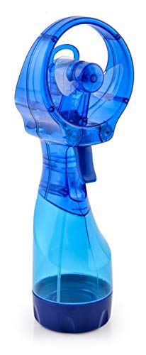 O2COOL Deluxe Handheld Battery Powered Misting Fan