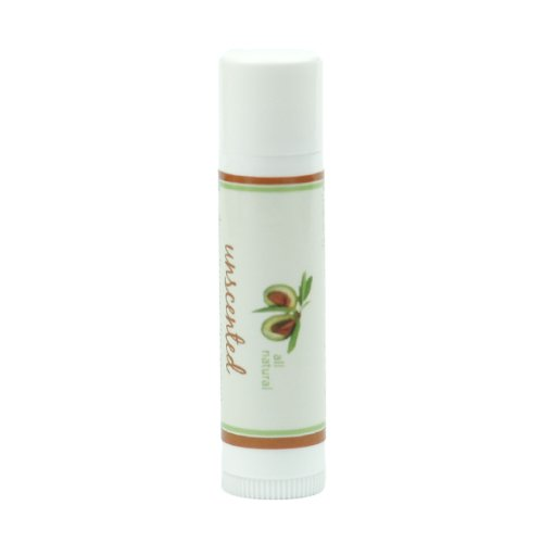 Beeswax Unscented Lip Balm by MoonDance Soaps - All Natural Moisturizers with Vitamin E and Essential Oils