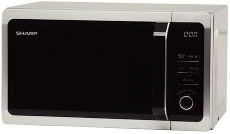Sharp r-652in Horno microondas, 800 W, 20 L, Color Plateado y ...