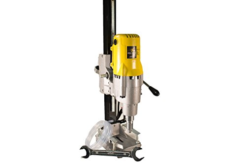 Steel Dragon Tools 8in. 185 Wet Dry Core Drill Rig and Stand for Diamond Concrete Drilling Boring