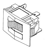 Heater Switch (Red) MIS013