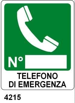 Cartellonistica Schild aus Aluminium cm 31x23 von Emergenz
