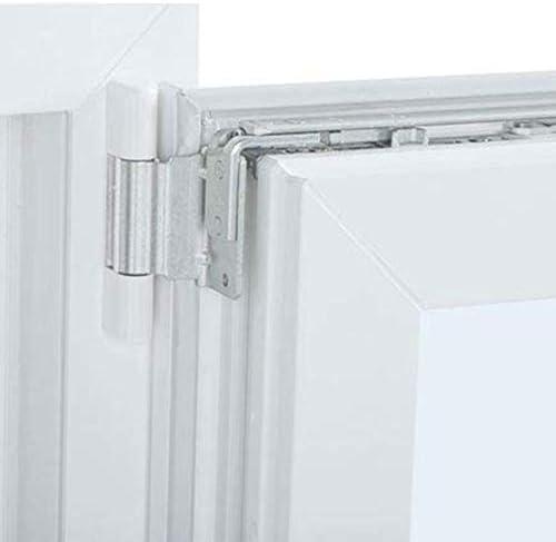 Alto aislamiento termico y acustico Ventana PVC 80 cm x 100 cm Practicable Apertura Derecha Oscilobatiente TermProtect Resistente al sol e humedad REGALO Garras de fijaci/ón