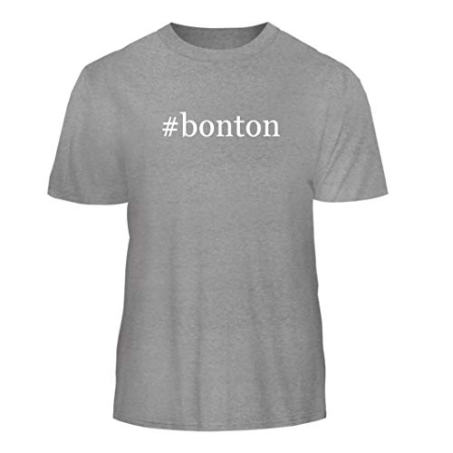 Tracy Gifts #bonton - Hashtag Nice Men's Short Sleeve T-Shirt, Heather, -