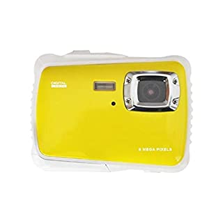 Hongbosheng 12 Meg Pixel 2.0 inch Dustproof Drop-Proof Children Diving Digital Camera(Yellow) (Color : Yellow)