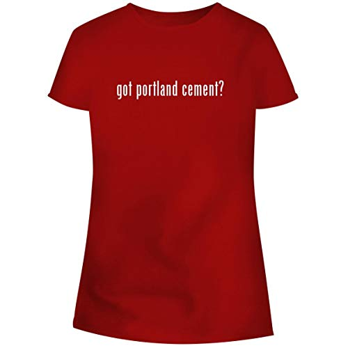 (One Legging it Around got Portland Cement? - Women's Soft Junior Cut Adult Tee T-Shirt, Red, XXX-Large)