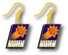 Phoenix Suns Earring (NBA Phoenix Suns Logo Dangler Earrings)