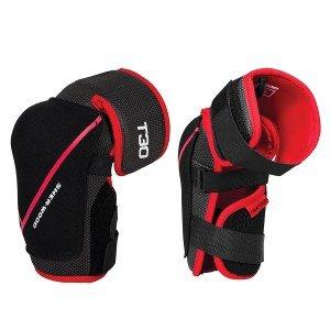 (Sherwood T30 Junior Hard Hockey Elbow Pads size Large)
