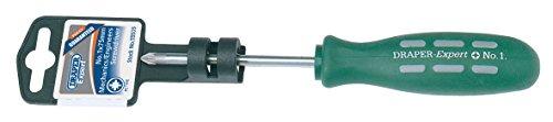Draper Expert No 1 x 75mm PZ Type Mechanics Screwdriver (Display Packed) - 55505 - Draper Expert Display