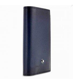 Montblanc Meisterstuck Sfumato Business Card Holder - Navy Blue