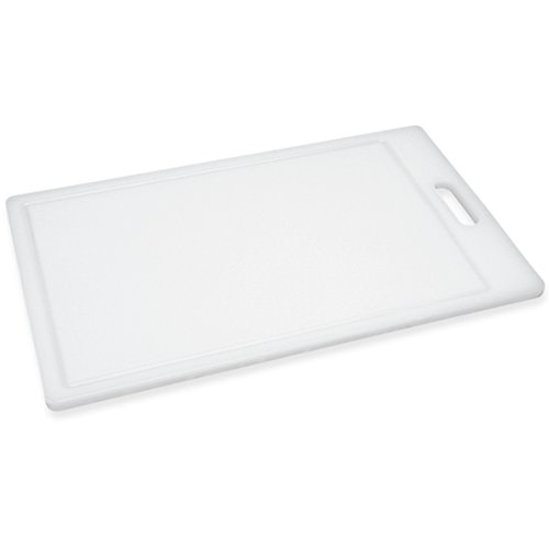 Prep Solutions by Progressive Cutting Board, Juice Grooves, Thick Chopping Board, Dishwasher Safe, Measures 9.5