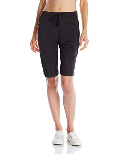 Hanes-Womens-French-Terry-Bermuda-Short