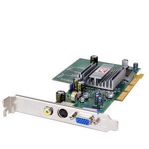 ATI Radeon 9200 64MB DDR AGP VGA Video Card W Composite TV