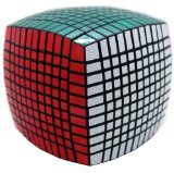 11x11x11 Speed Cube Puzzle ,Black Body,stickers Fnished by Sunny Rain
