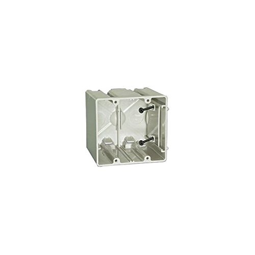 ALLIED MOULDED SB-2 New and Old Work Adjustable Two Gang Electrical Box