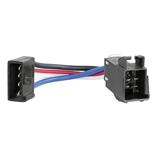 CURT 51520 Quick Plug Electric Trailer Wiring Adapter for Competitor Harnesses Brake - Brake Other