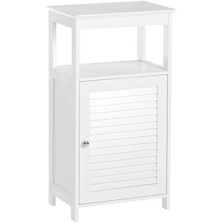 RiverRidge Ellsworth Single Door Floor Cabinet, White