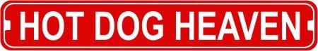 hot dog bar sign - 9