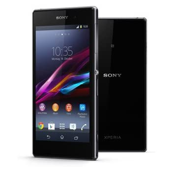 Sony Xperia Z1 C6903 16GB Unlocked GSM 4G LTE WaterProof Smartphone w/ 20MP Camera and Shatter-Proof Glass - Black