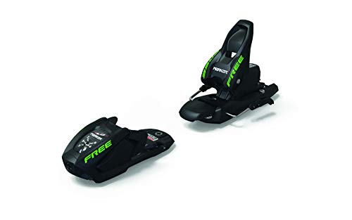 Marker Jr Free 7 Ski Bindings 2019 Black 85mm (Best Alpine Ski Bindings 2019)