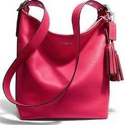 Coach Brown Leather Duffle Bag - 4
