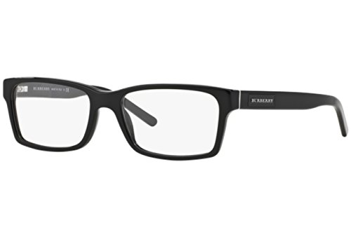 Burberry BE2108 Eyeglasses-3001 Black-54mm ()