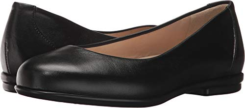 SAS Women's, Scenic Slip on Flat Black 6 WW ()
