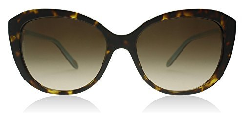 Tiffany TF4130 81343B Havana TF4130 Oval Sunglasses Lens Category 3 Size - Tiffany Lenses
