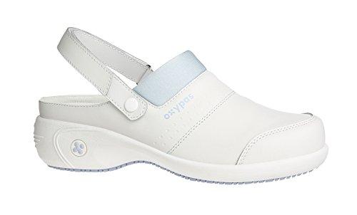 Oxypas Sandy, Women's Safety Shoes, White (Lbl), 6.5 UK (40 EU)
