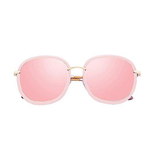 Rosa DT Cara Mujer Gafas Sol de 1 Redonda 2 Gafas de Sol Sol Color Gafas Gafas de OrOqp