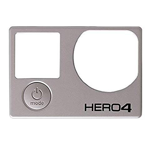 Cheap Cvivid Lenses Faceplate Cover with Power Button for Gopro Hero 4 Front Frame Housing Repair Part Fix for GoPro Hero 4 Black and Silver Edition