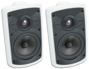 Niles OS5.5 (Pr) 5 Inch 2-Way High Performance Indoor Outdoor Speakers (Niles Indoor Outdoor Speakers)