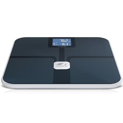 runtastic LIBRA - Báscula de baño (LCD, Negro, 2,5 kg)