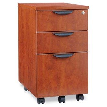 Alera Cherry File Cabinet (Alera VA572816MC - Valencia Mobile Box/Box/File Pedestal File, 15-7/8 x 20-1/2 x 28-3/8, Med Cherry)