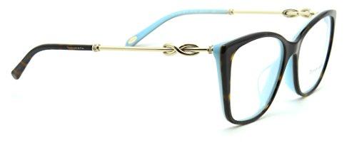 Tiffany & Co. TF 2160-B Women Eyeglasses RX - able Havana Frame (8134) 52mm