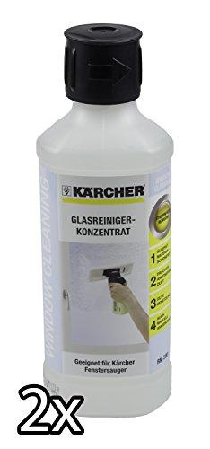 1 Liter Kärcher Glasreiniger Konzentrat RM 500 - 2 x 500 ml
