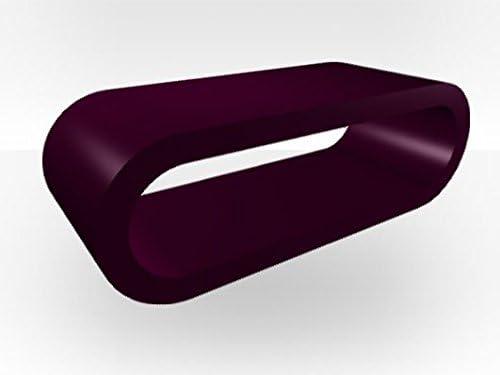 Zespoke Tavolino da caff/è a Forma di Anello Grande Acciaio Spazzolato