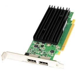 HP 641462-001 NVIDIA Quadro NVS 295 PCIe graphics card - With 256MB DDR SDRAM memory