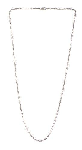 Collier - NKG-K10629 - Femme - Or Blanc 375/1000 (9 Cts) 7.0 Gr