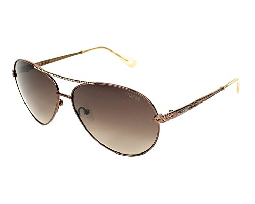 Glanz Dunkel GU7470 S Guess Braun Sonnenbrille q1an86