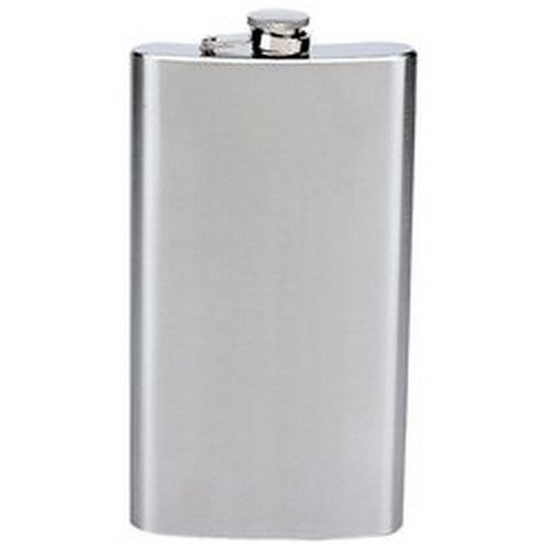 Maxam 12oz Stainless Steel Hip Flask